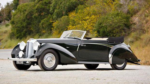 1939 Lagonda V-12 Rapide Drophead Coupe