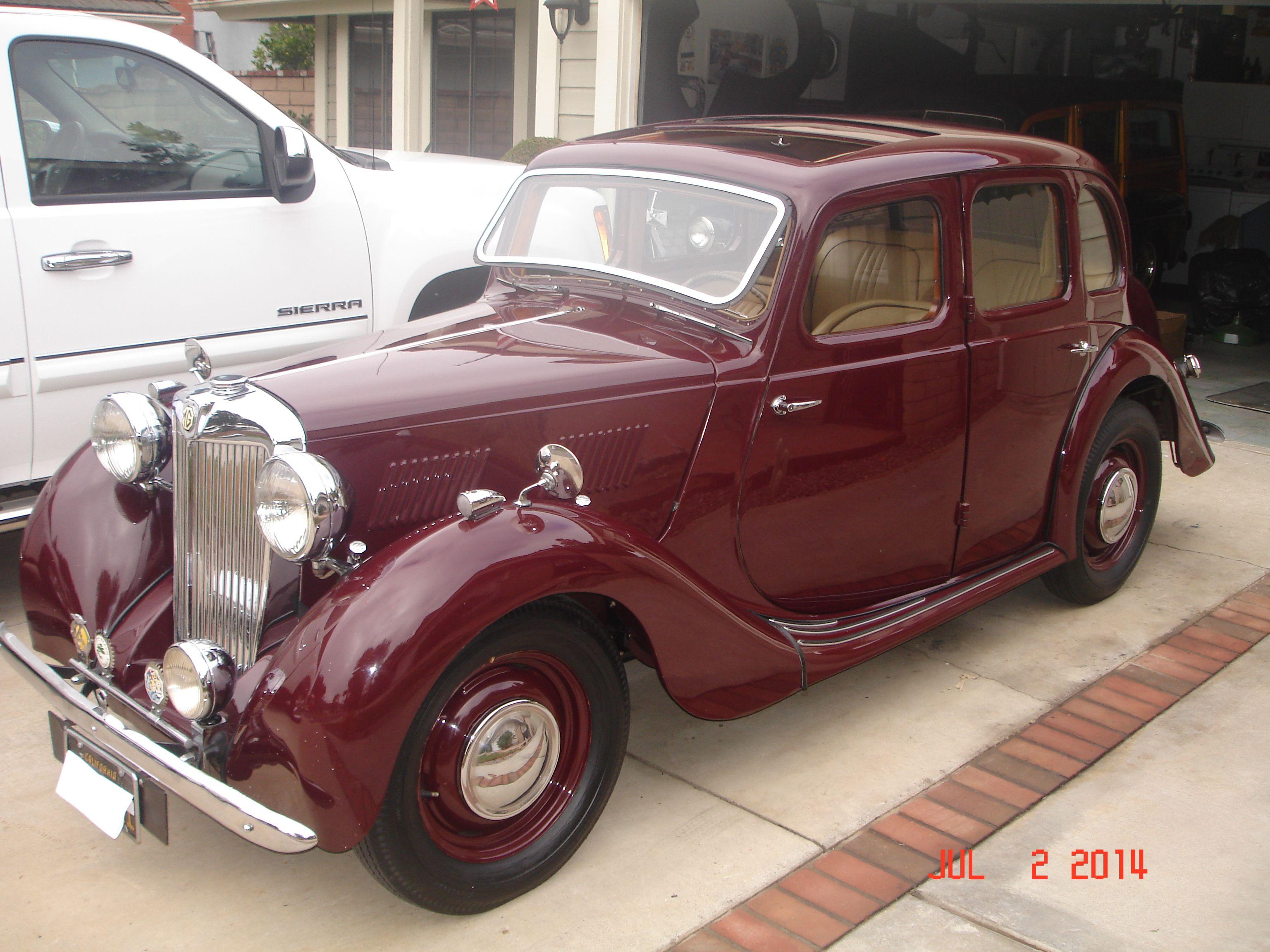 1950 MG Y Sedan