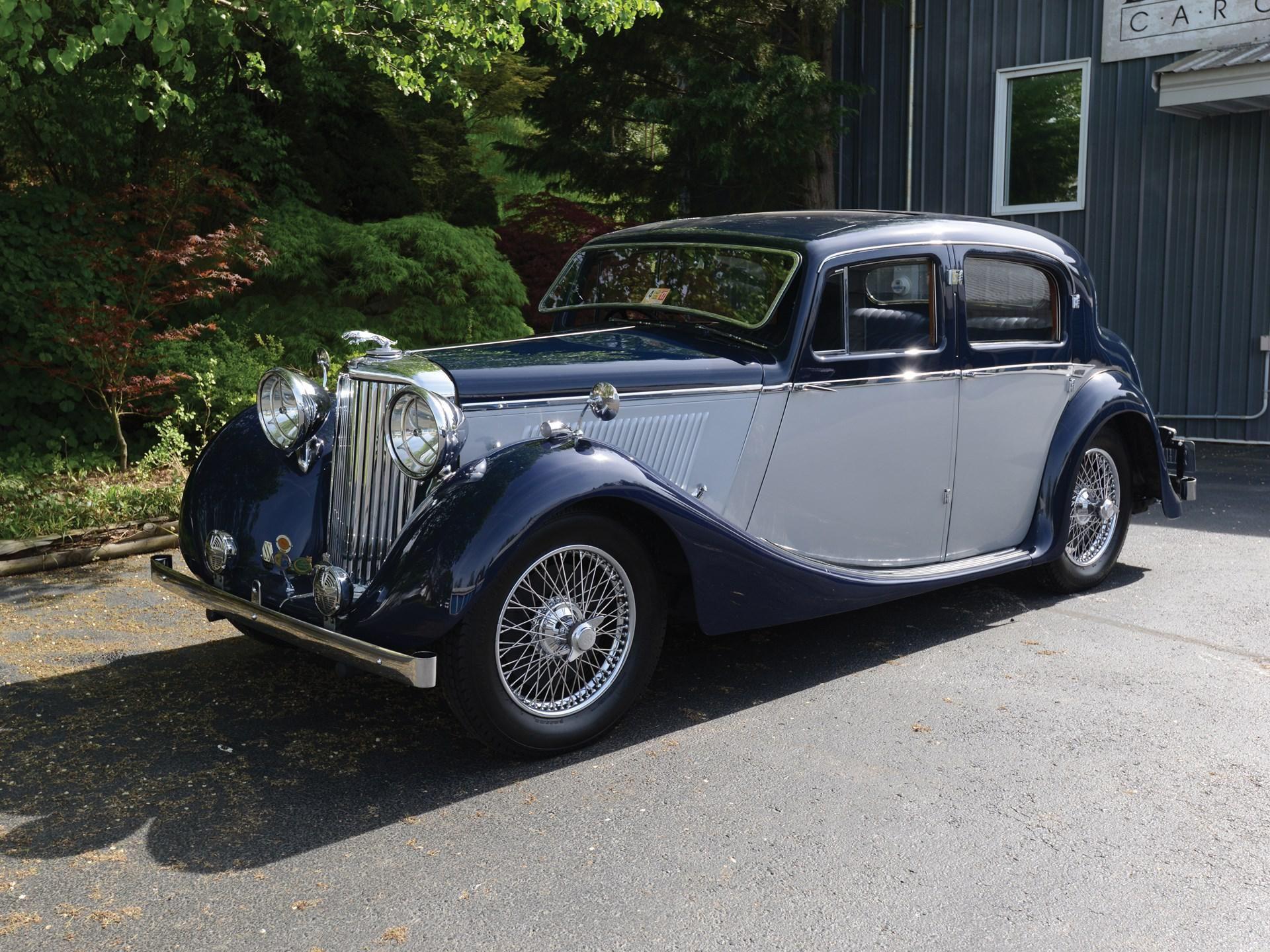 1938 SS Jaguar 1½-Litre Saloon