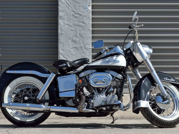 1967 Harley-Davidson Flh Police Special Edition