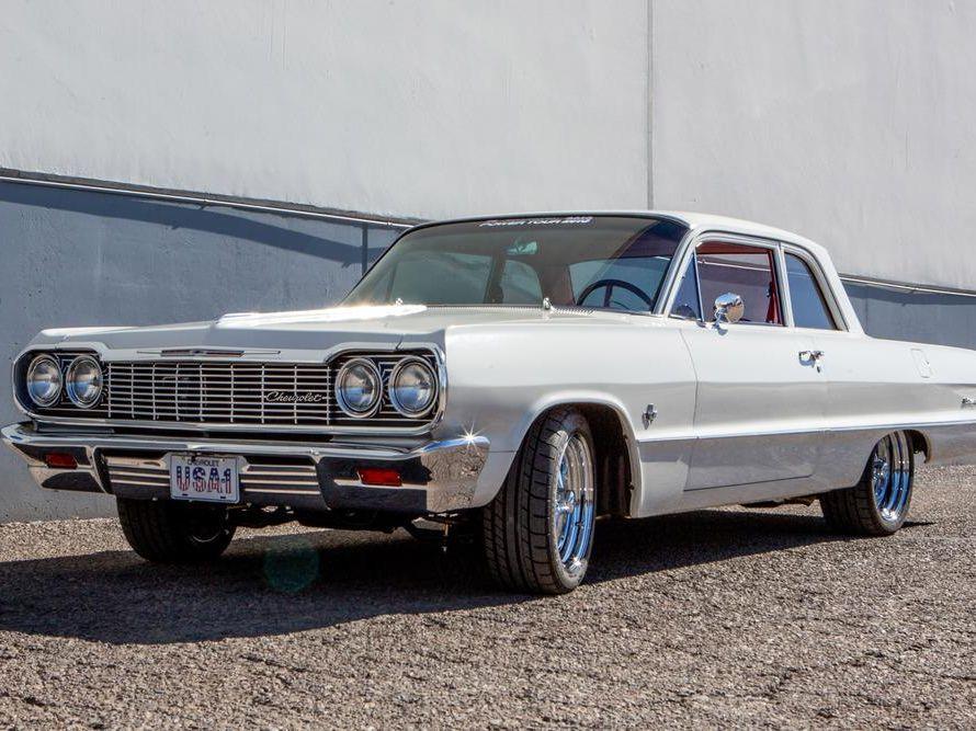 1964 Chevrolet Biscayne Custom 2-Door Post