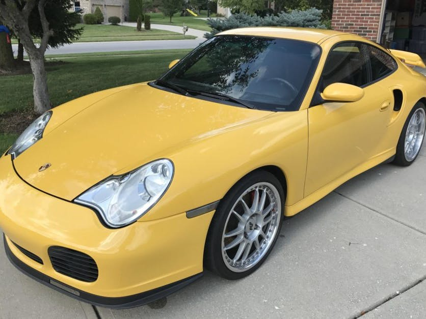 2003 Porsche 911 Turbo Coupe X50 6-Speed