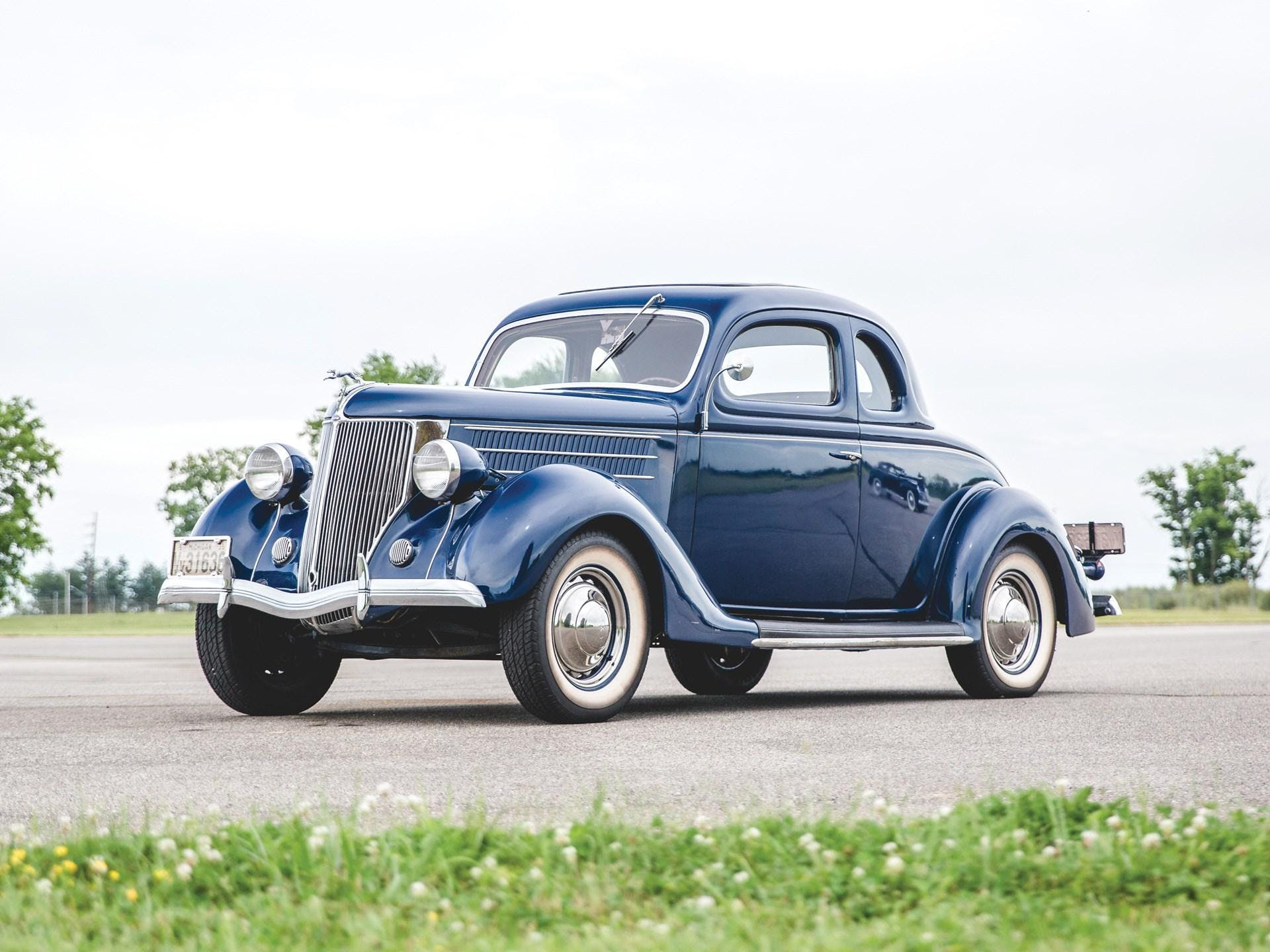 1936 Ford Five-Window Coupe