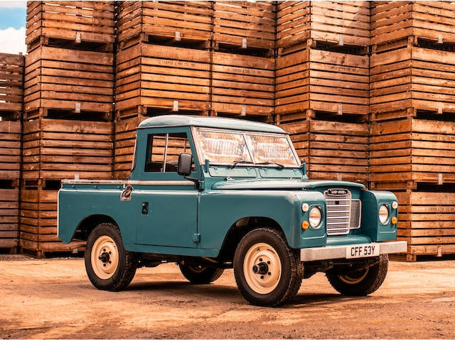 1982 Land Rover Series III 88""