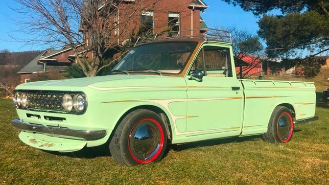 1972 Datsun 521 Pickup