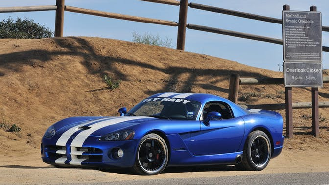 2006 Dodge Viper SRT-10 Coupe First Edition