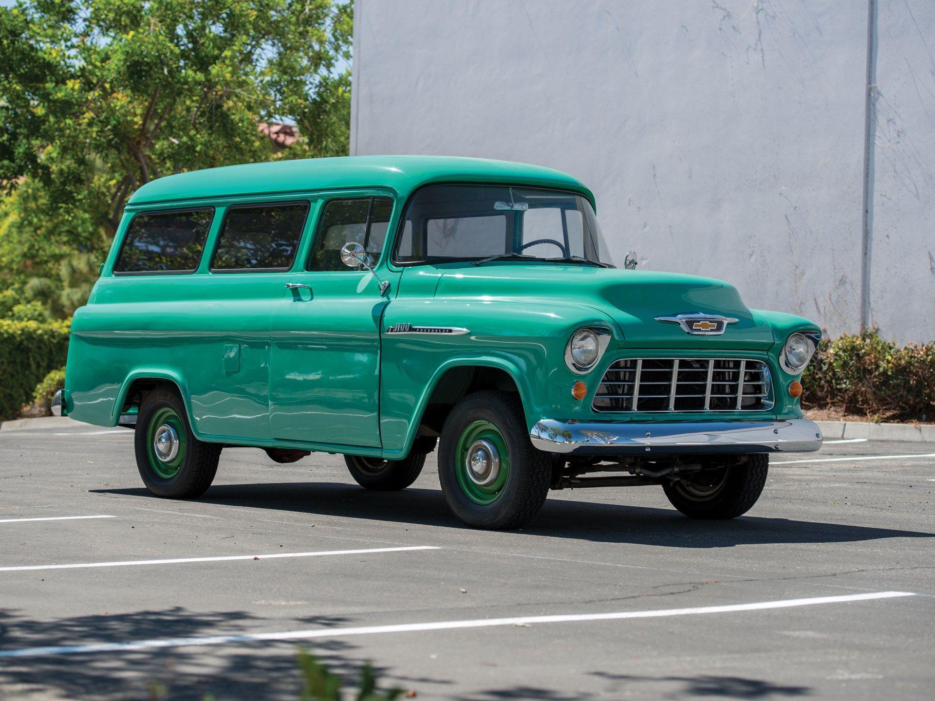 1955 Chevrolet 3100 Suburban