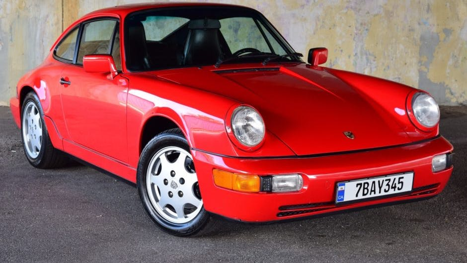 1989 Porsche 911 Carrera 4 Coupe