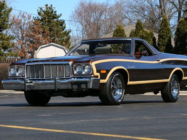 1974 Ford Ranchero Squire