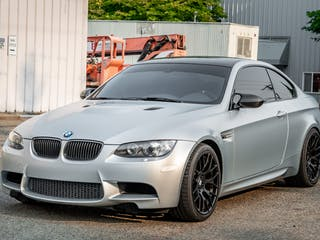 2012 BMW M3 Coupe Competition Edition Frozen Silver