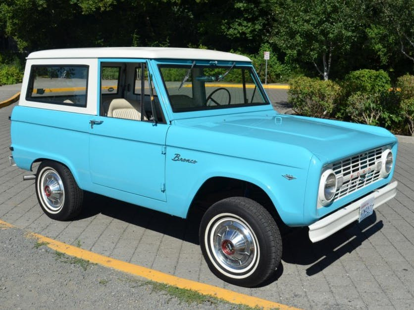 1967 Ford Bronco 3-Speed