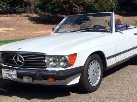 1989 Mercedes-Benz 560SL Convertible