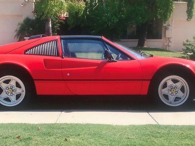 1985 Ferrari 308 GTS Convertible
