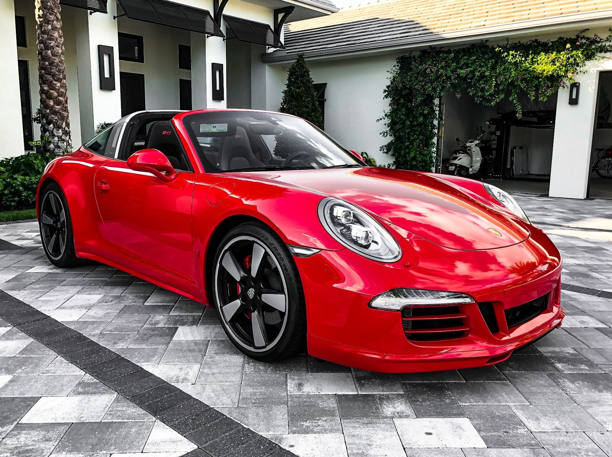 2016 Porsche 991 Targa 4s X51 7 Speed Vin Wp0bb2a99gs136735 Classic Com