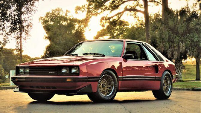1980 Mercury Cosworth Capri