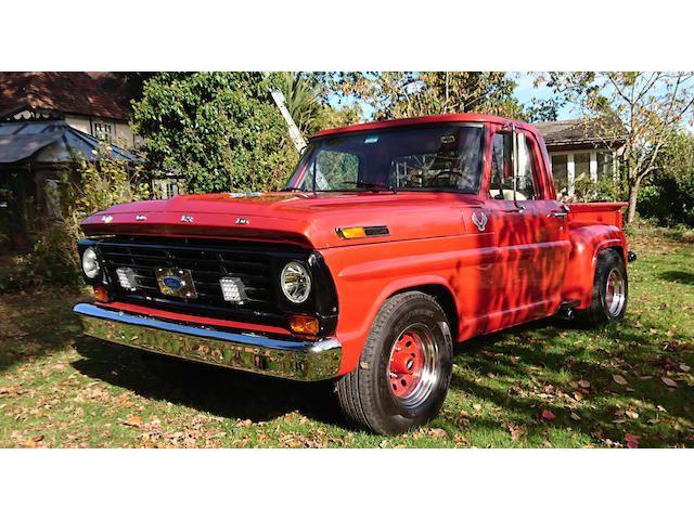 1968 Ford F100 Stepside Pickup Truck
