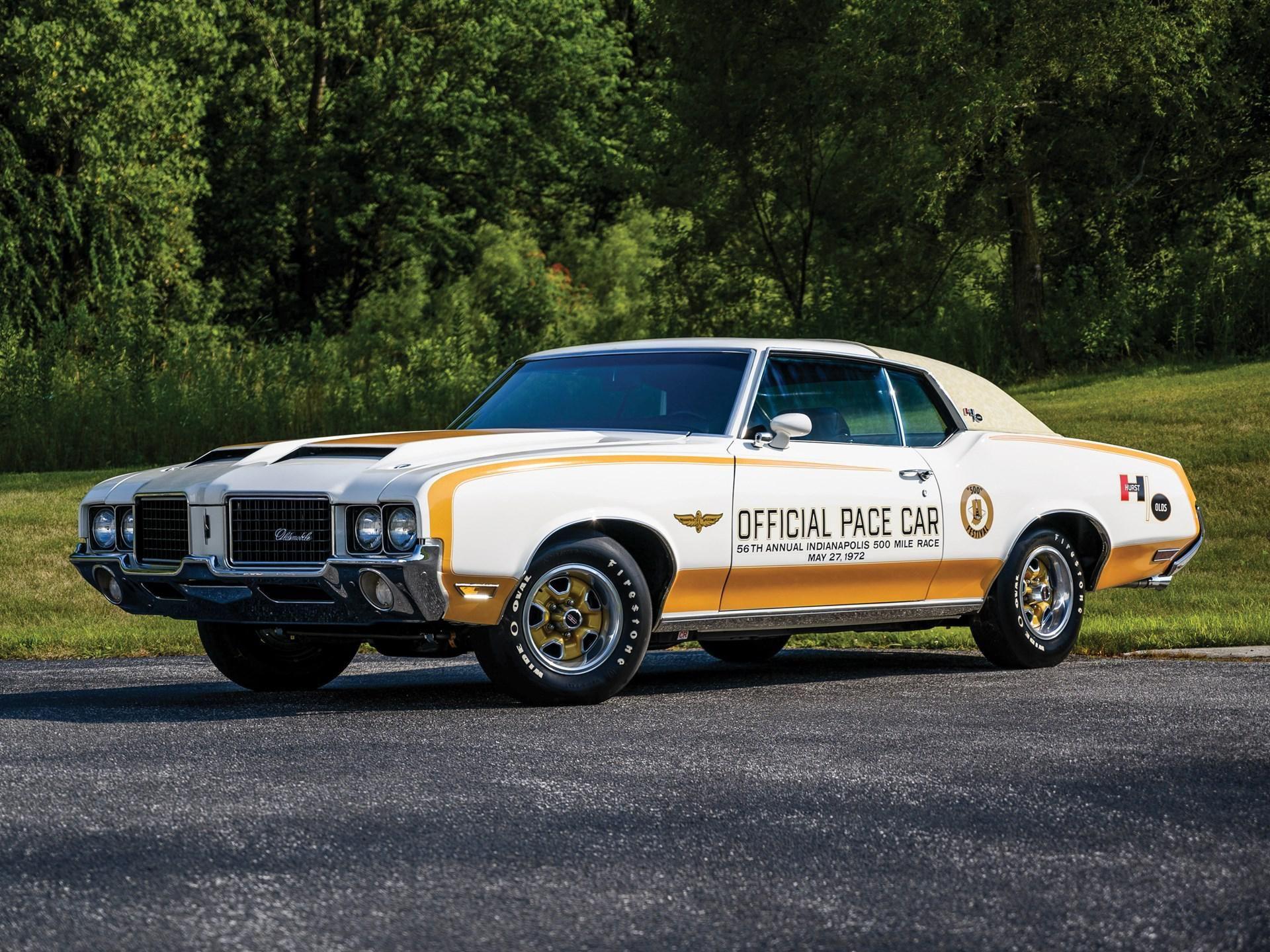 1972 Oldsmobile 442 Indianapolis 500 Pace Car Replica