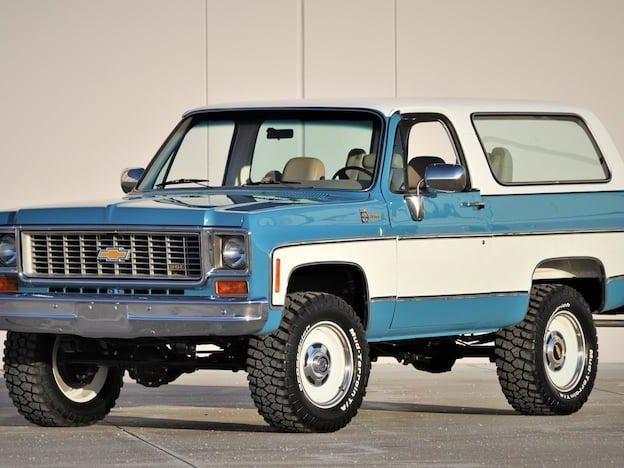 1974 Chevrolet K5 Blazer
