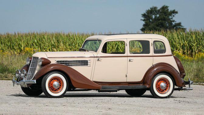 1936 Auburn 654 Four-Door Sedan