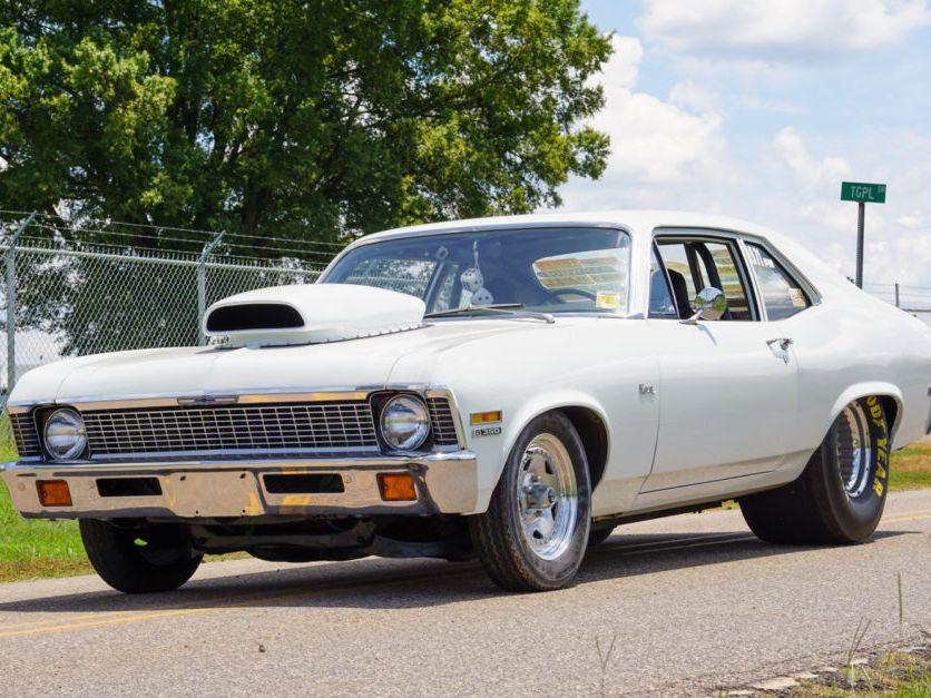 1971 Chevrolet Nova Drag Car