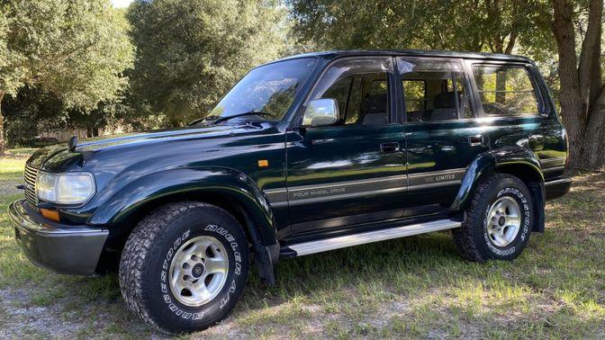 1993 Toyota Land Cruiser HDJ81 Vx Limited Turbodiesel