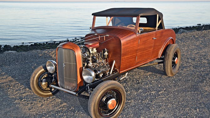 1931 Ford Model A Highboy Roadster With A Flathead V-8
