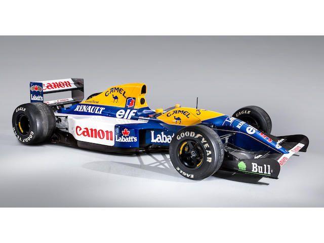 1992 Williams-Renault FW14B Formula 1 Racing Single-Seater