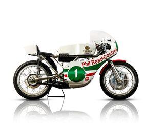 1971 Yamaha 250CC TD2 Racing Motorcycle