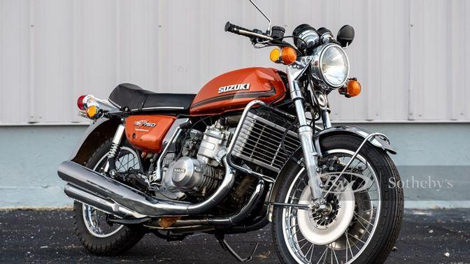 """1976 Suzuki GT350 """"Water Buffalo"""""""