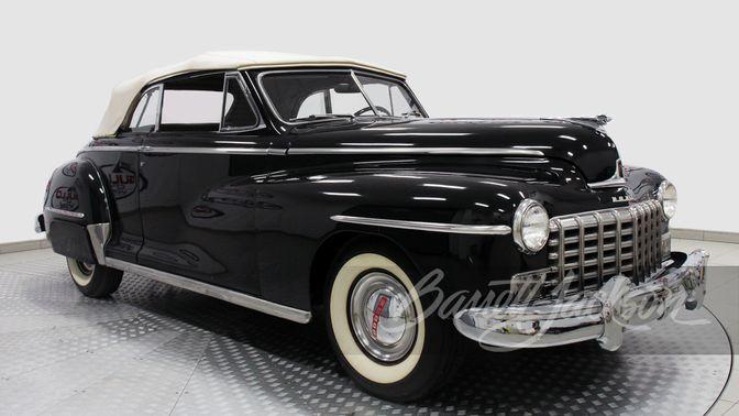 1948 Dodge D24 Convertible