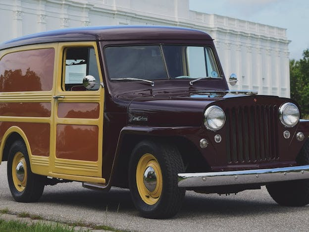 1949 Willys Panel Wagon