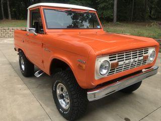 1970 Ford Bronco Half-Cab Pickup