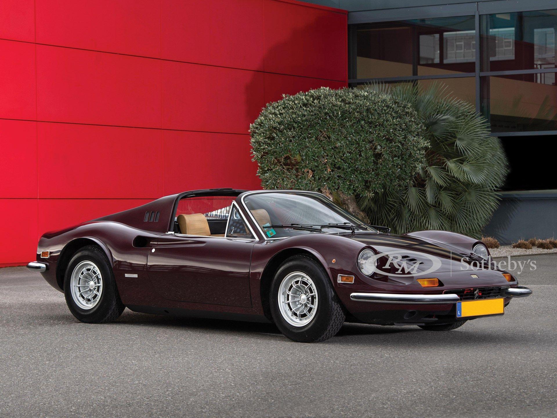 1973 Ferrari Dino 246 Gts Chairs Flares By Scaglietti Vin 05530 Classic Com