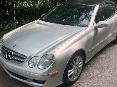 2008 Mercedes-Benz CLK350
