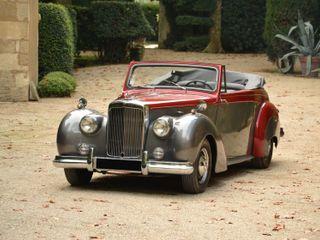 1953 Alvis TA21 Cabriolet by Tickford