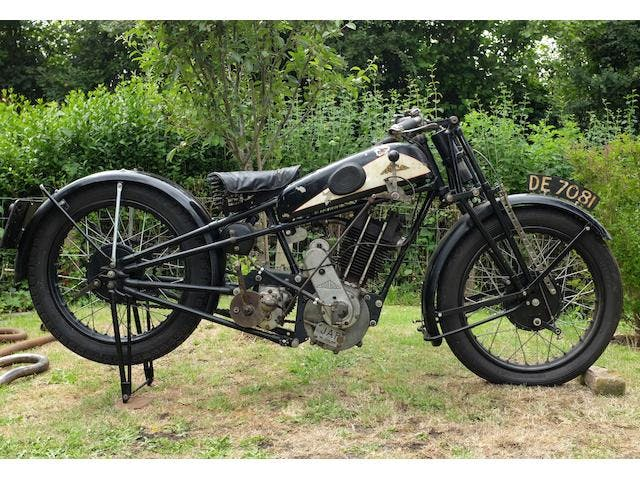 1929 Cotton 496CC Model 25 Twin-Port