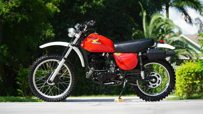 1976 Honda MR250 Elsinore