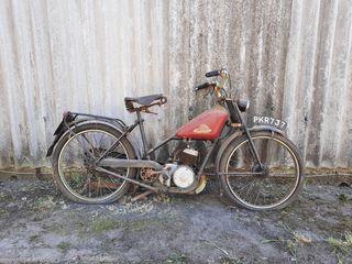 1951 Norman 98CC Model C Autocycle