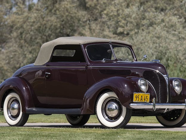 1938 Ford Deluxe Convertible