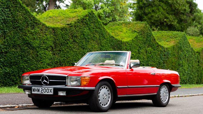 1982 Mercedes-Benz 500 SL