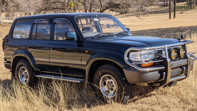 1995 Toyota Land Cruiser Vx Limited Japanese-Market