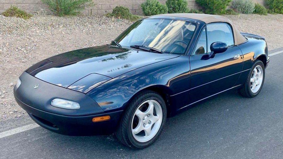 1997 Mazda Mx 5 Miata Sto Edition Vin Jm1na3539v0738894 Classic Com