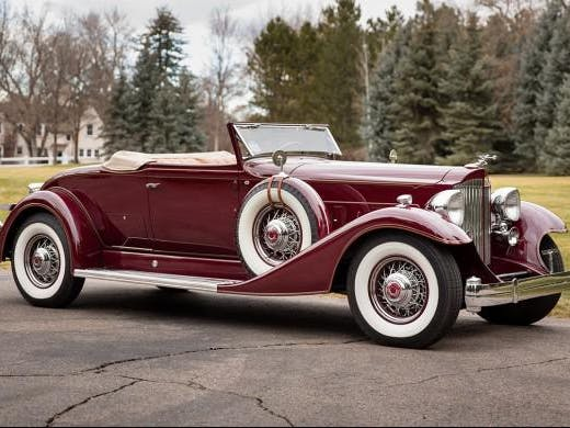 1933 Packard Twelve 1005 Coupe Roadster