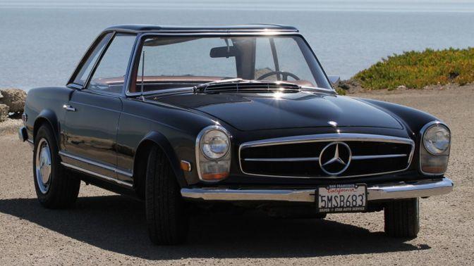 1968 Mercedes-Benz 280SL 4-Speed