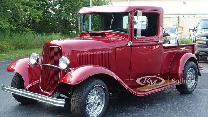 1932 Ford Pickup Custom