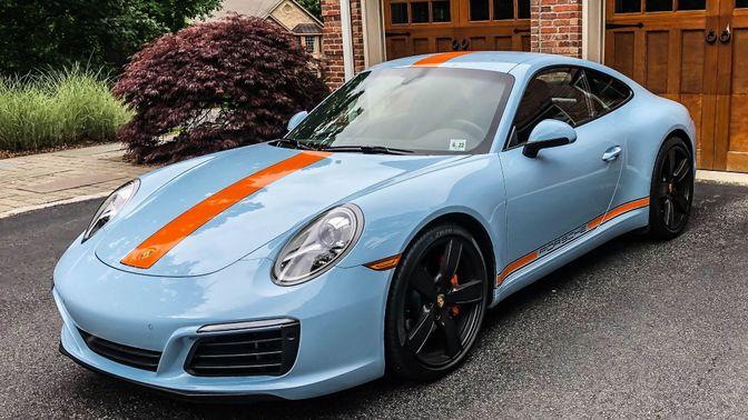 2017 Porsche 991.2 Carrera Pts Gulf Blue