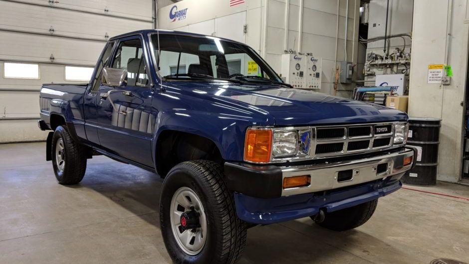 1986 Toyota Xtracab 4×4 Pickup 5-Speed