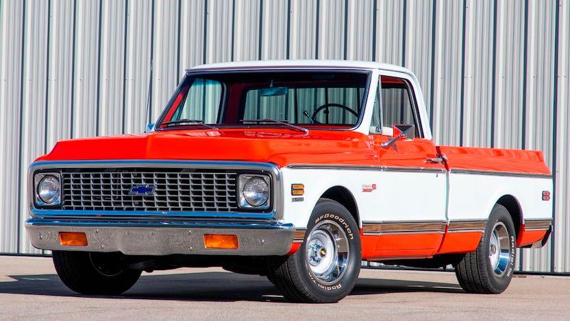 1971 Chevrolet C10 Cheyenne Super Pickup