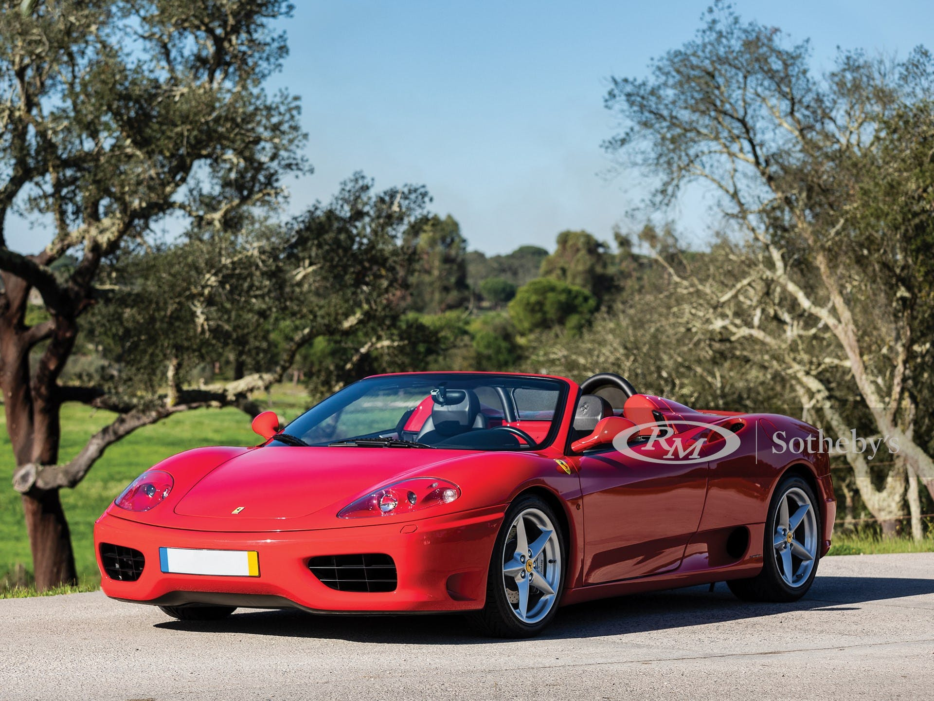 2000 Ferrari 360 Spider Not Sold At Rm Sotheby S Online Only The European Sale Essen 2020 Classic Com