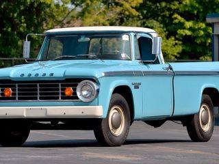 1966 Dodge D200 Camper Special Pickup